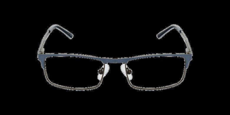 Lunettes de vue homme LILOUAN bleu/gris