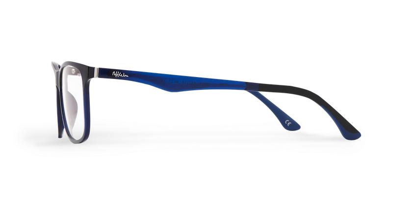 Óculos graduados homem MAGIC 24 BL BLUEBLOCK - BLOQUEIO LUZ AZUL azul - Vista lateral