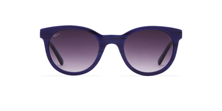 Lunettes de soleil femme ARIANA bleu