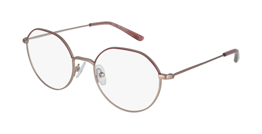 Óculos graduados senhora Anaelle rdpk (Tchin-Tchin +1€) vermelho/rosa - vue de 3/4
