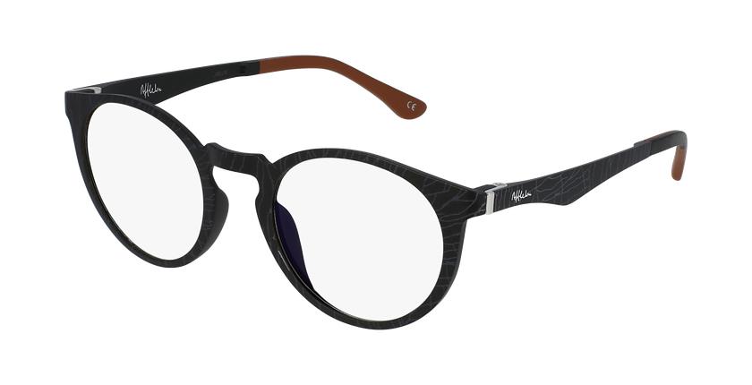 Óculos graduados MAGIC 35 BK BLUEBLOCK - BLOQUEIO LUZ AZUL preto - vue de 3/4