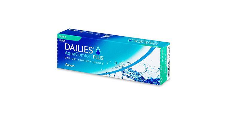 Lentilles de contact Dailies AquaComfort Plus Toric 30L