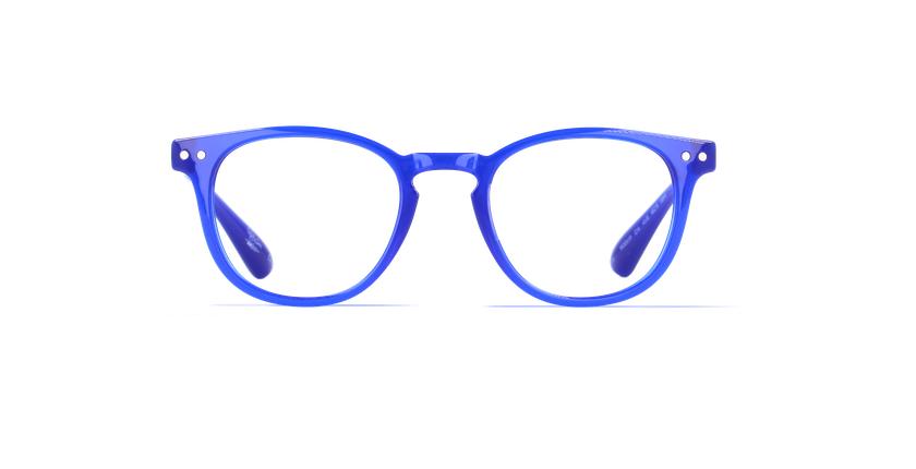 Lunettes de vue homme BLUE BLOCK HOMME bleu - Vue de face