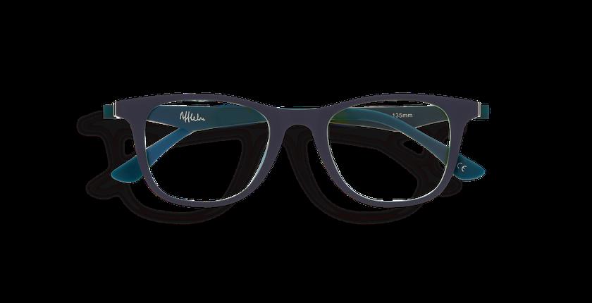 Lunettes de vue enfant MAGIC 30 BLUEBLOCK bleu/vert - Vue de face