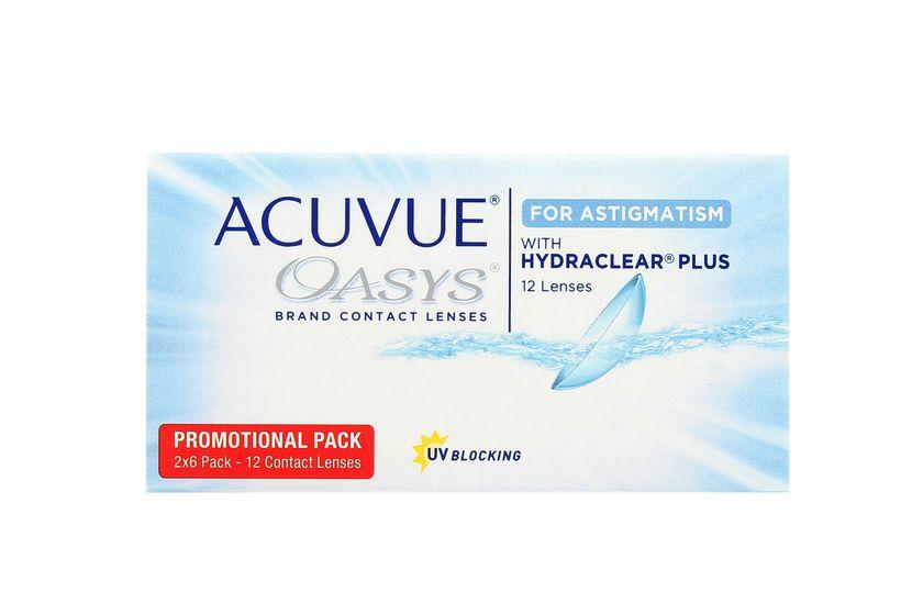 Lentilles de contact Acuvue® Oasys® for Astigmatism 12L - vue de face