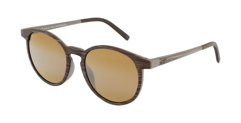 Gafas de sol Kiawe marrón - vue de 3/4