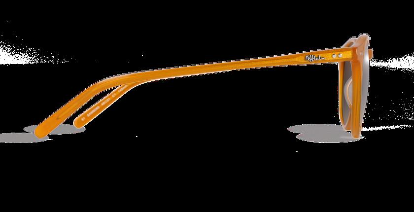 Lunettes de soleil homme MELBOURNE orange - vue de côté