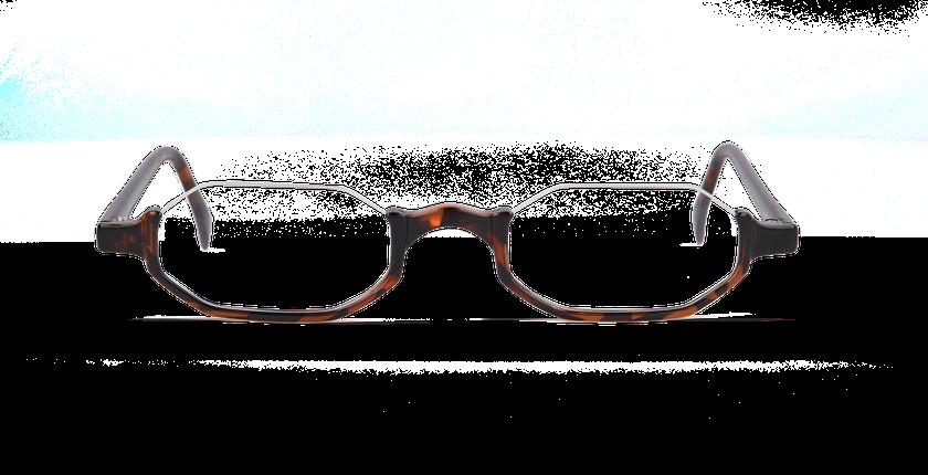 Lunettes de vue AFFLELOU FORTY écaille - Vue de face