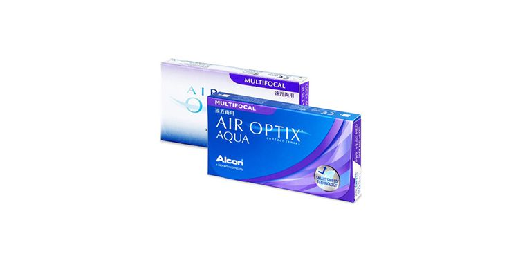 Lentes de contacto Air Optix Aqua Multifocal 6L