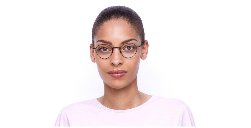 Óculos graduados CLEO BU (TCHIN-TCHIN +1€) vermelho - Vista de frente