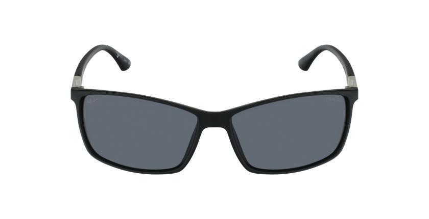 Óculos de sol homem SHAUN BK preto - Vista de frente