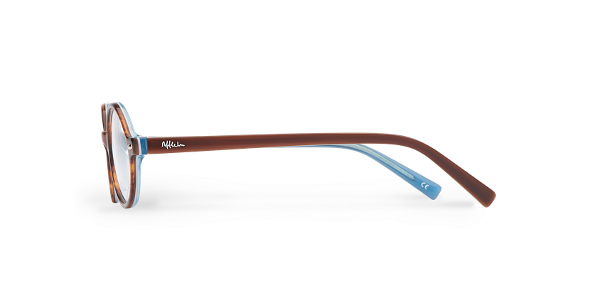 Óculos graduados criança LAYAN TO tartaruga /azul - Vista lateral