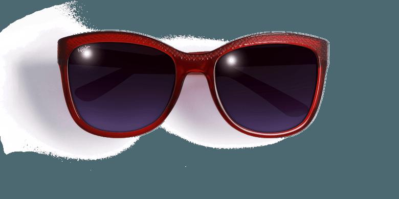 Gafas de sol mujer ELVIRA rojo