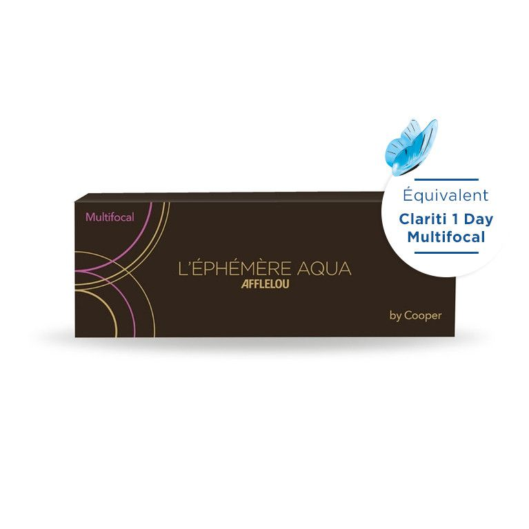 Lentilles de contact Ephémère Aqua Journaliére Multifocal High 30L
