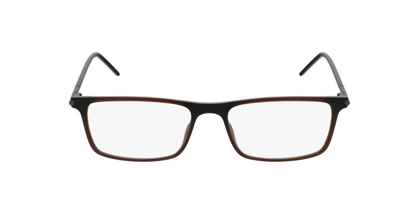 Lunettes de vue homme TMF72 marron - Vue de face