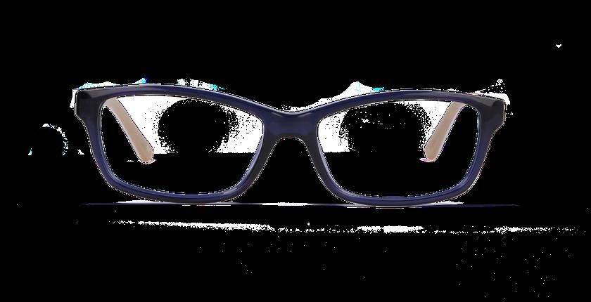 Lunettes de vue femme CHARLENE bleu - vue de face