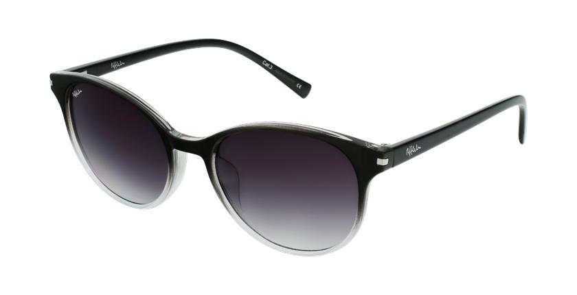 Óculos de sol SEROS BK preto - vue de 3/4