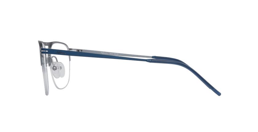 Lunettes de vue homme NEON bleu/argenté - Vue de côté