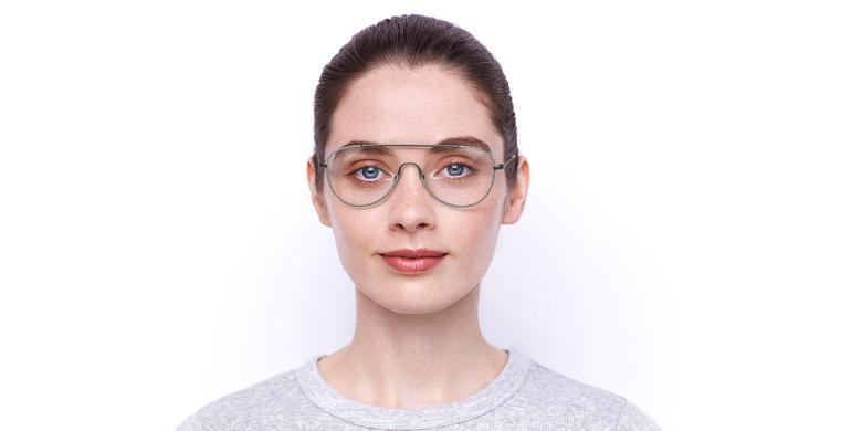 Lunettes de vue femme DIANA gris