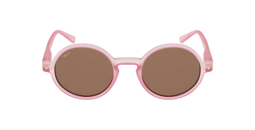Óculos de sol criança COMO PK rosa - Vista de frente