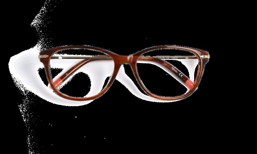 Lunettes de vue femme CHESTER marron