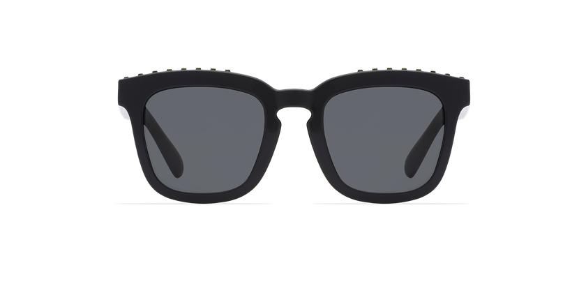 Óculos de sol criança PIA preto - Vista de frente