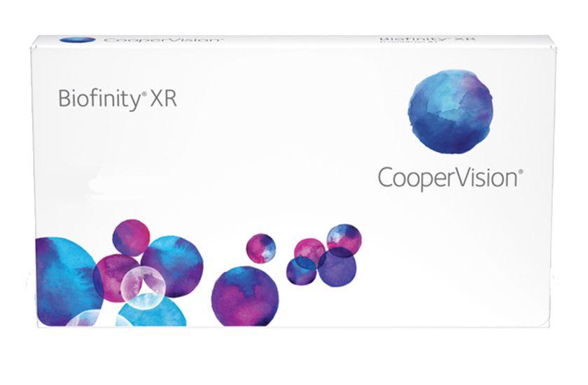 Lentilles de contact Biofinity XR 6L - vue de face