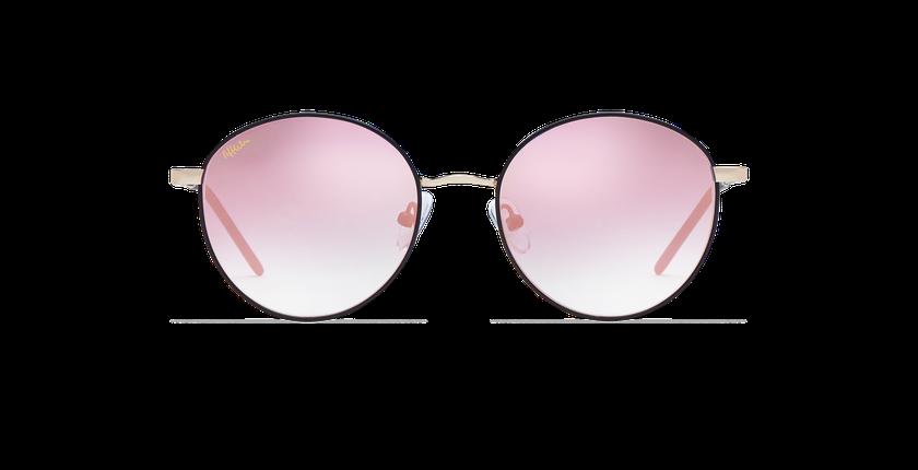 Gafas de sol mujer BEVERLY negro - vista de frente