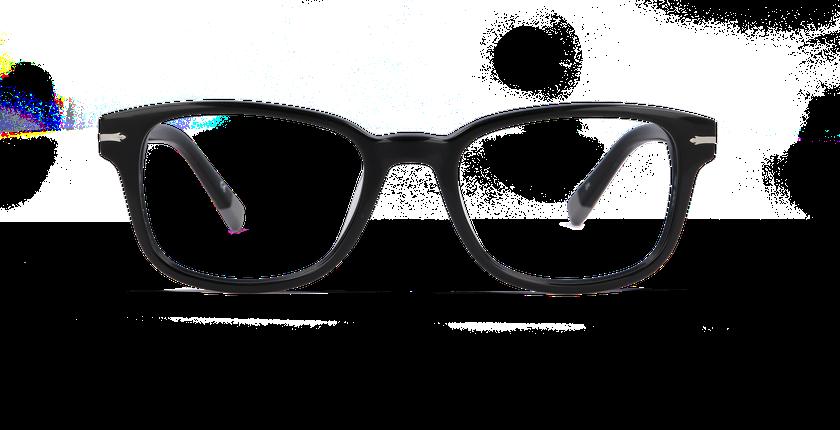Lunettes de vue homme GREENWICH noir - vue de face