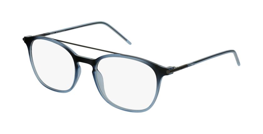 Óculos graduados homem MAGIC 71 BL azul - vue de 3/4