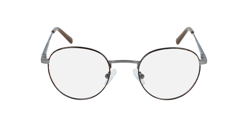 Óculos graduados homem MARIN TO (TCHIN-TCHIN +1€) tartaruga /cinzento - Vista de frente