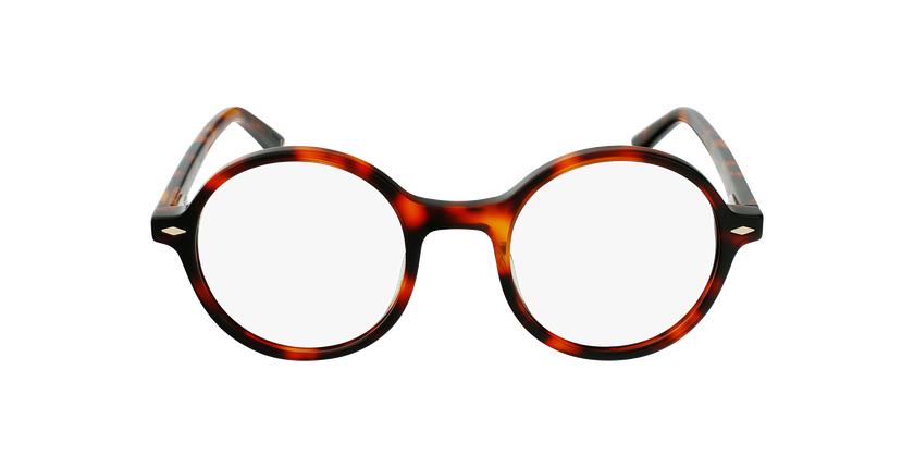 Óculos graduados CAMELIA TO01 (TCHIN-TCHIN +1€) tartaruga /castanho - Vista de frente