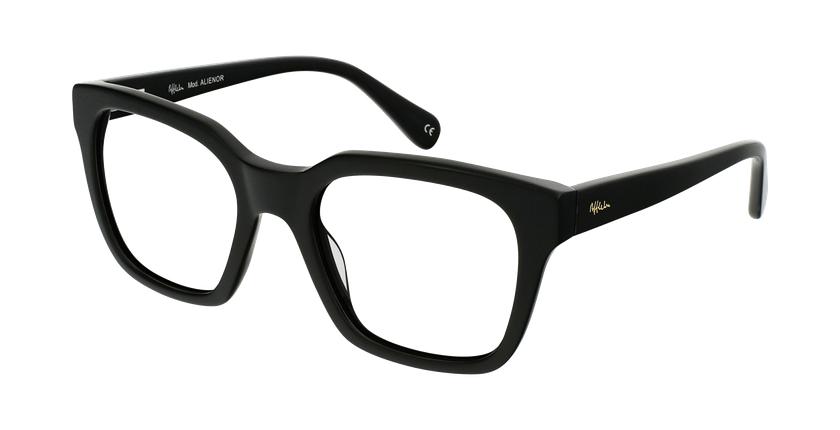 Óculos graduados senhora ALIENOR BK (TCHIN-TCHIN +1€) preto - vue de 3/4
