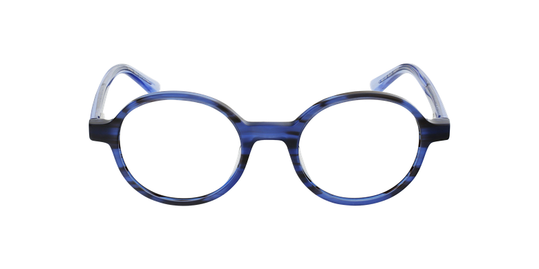 Óculos graduados senhora CAPUCINE BL (TCHIN-TCHIN +1€) azulVista de frente