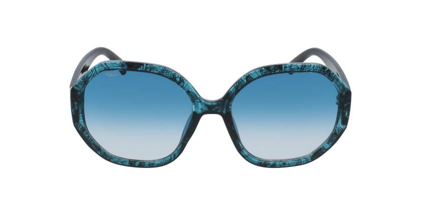 Óculos de sol senhora AURORA GR01 turquesa - Vista de frente