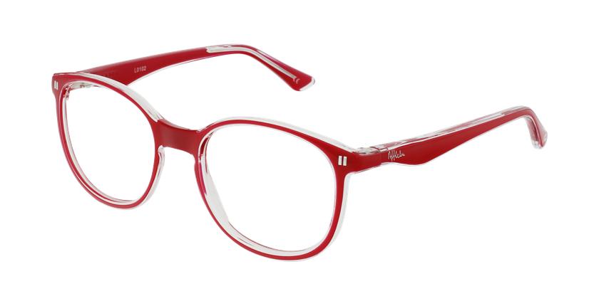 Óculos graduados criança REFORM TEENAGER (J5 PK) rosa - vue de 3/4