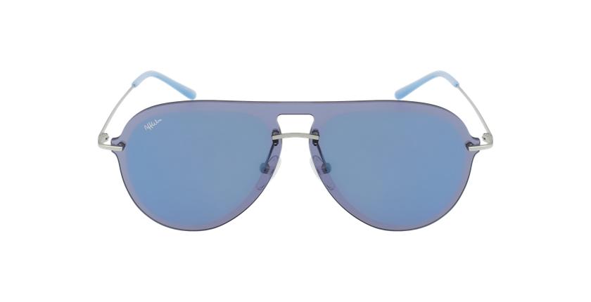 Óculos de sol WAIMEA SLBL prateado/azul - Vista de frente