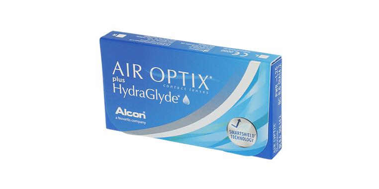 Lentilles de contact Air Optix Plus HydraGlyde 6L