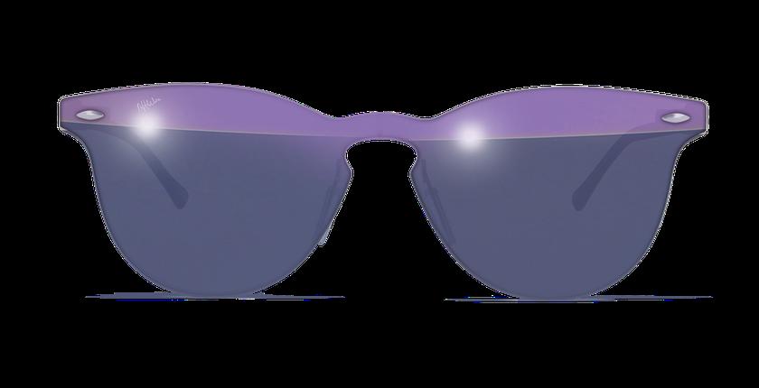 Lunettes de soleil femme COSMOS2 violet - Vue de face