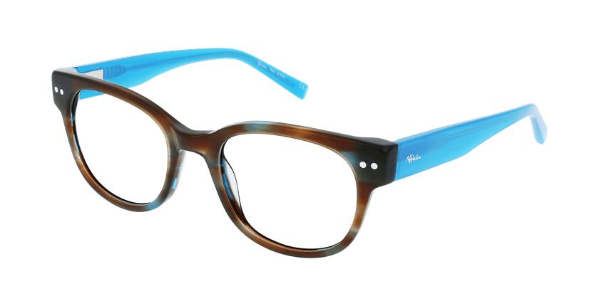 Óculos graduados senhora SWAN BR (TCHIN-TCHIN +1€) castanho - vue de 3/4