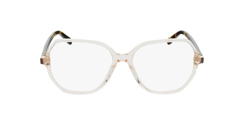 Óculos graduados senhora CONSTANCE BR (TCHIN-TCHIN +1€) castanho - Vista de frente
