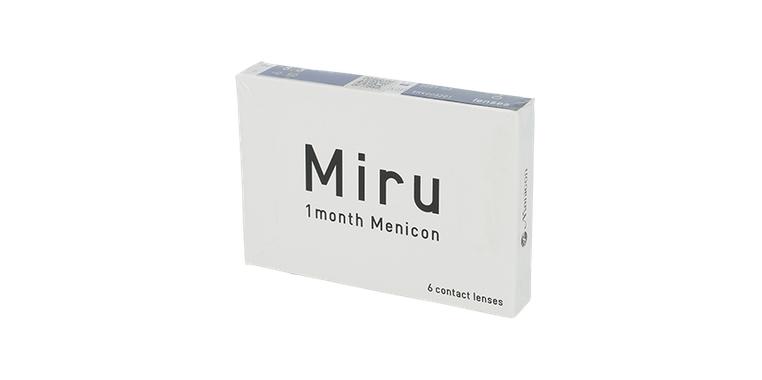 Lentilles de contact Menicon Miru 1 Month