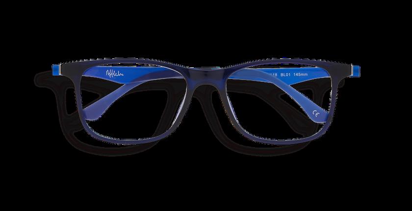558bc31a6 ... Óculos graduados homem MAGIC 24 BL01 azul - Vista de frente ...