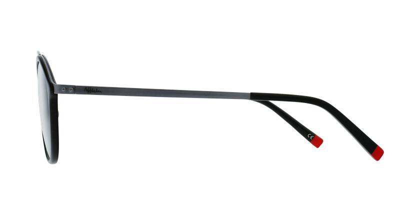Óculos graduados ROSSINI BK preto - Vista lateral
