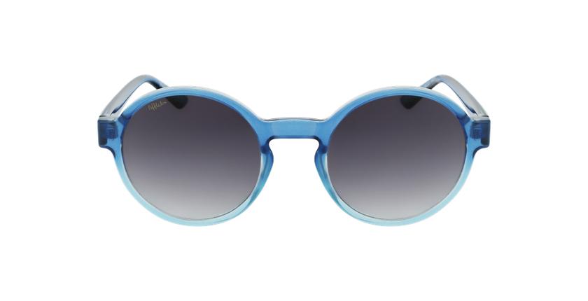 Lunettes de soleil femme CHACHA bleu - Vue de face