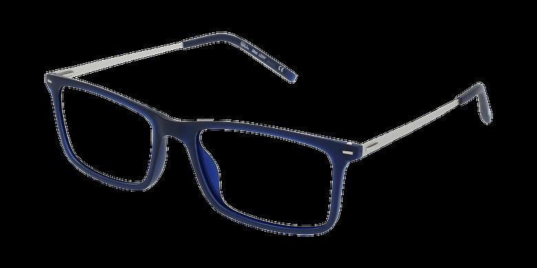 Lunettes de vue homme LENY bleu/argenté