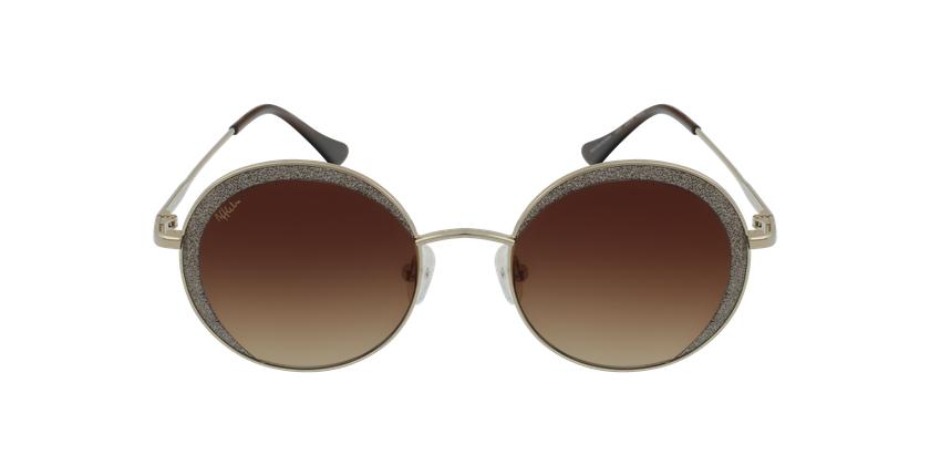 Óculos de sol senhora CALAHORRA GD dourado - Vista de frente