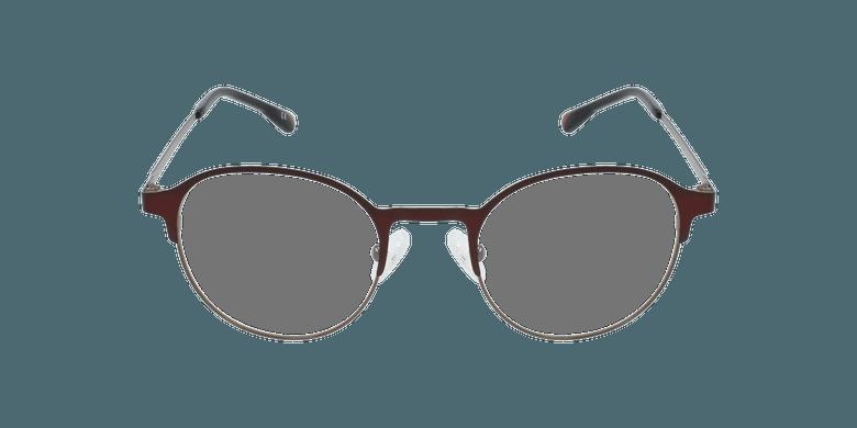 Óculos graduados homem MAGIC 53 BLUEBLOCK - BLOQUEIO LUZ AZUL vermelho/castanho