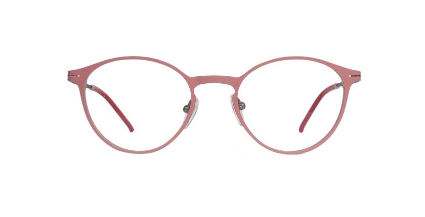 Óculos graduados senhora OXYGEN PKSL rosa/prateado - Vista de frente