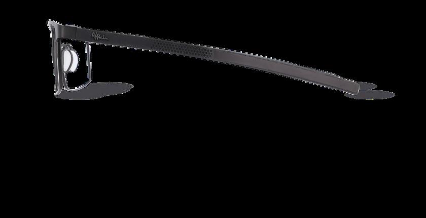 Gafas graduadas hombre ANDRE negro - vista de lado
